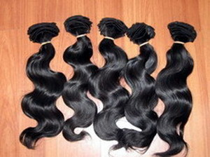 Machine Weft Wavy Indian Remy Hair 4 oz Pack