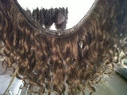 Handtied Wavy Virgin Indian Remy Hair