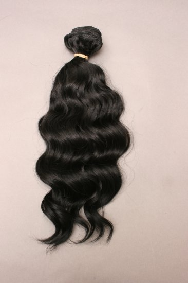 Machine Weft Wavy Indian Remy Hair